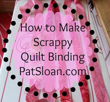 Pat sloan bias binding tutorial