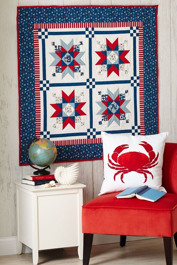American Patchwork and Quilting free nautical pattern