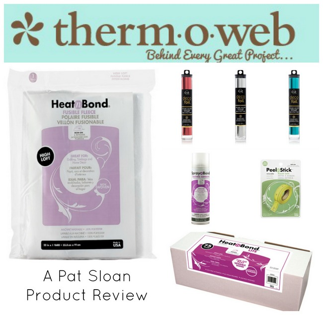 Pat sloan thermoweb project review