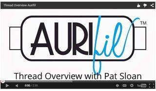 Pat sloan aurifil videos