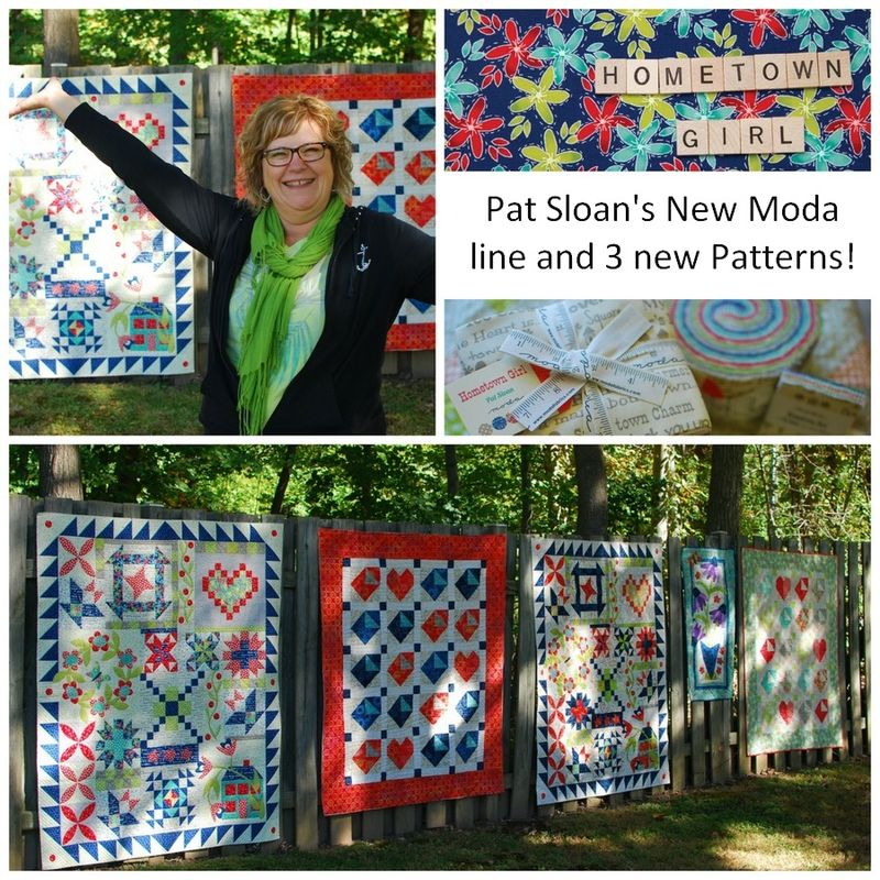Pat Sloan Hometown Girl Collage new patterns