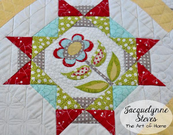 Free applique block of the month quilt patterns accuquilt block