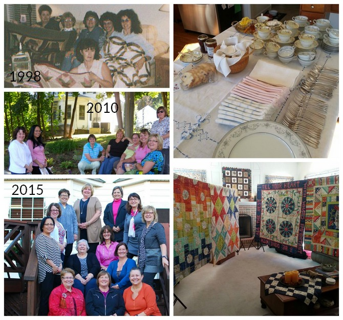 Pat sloan my sewing group through the years