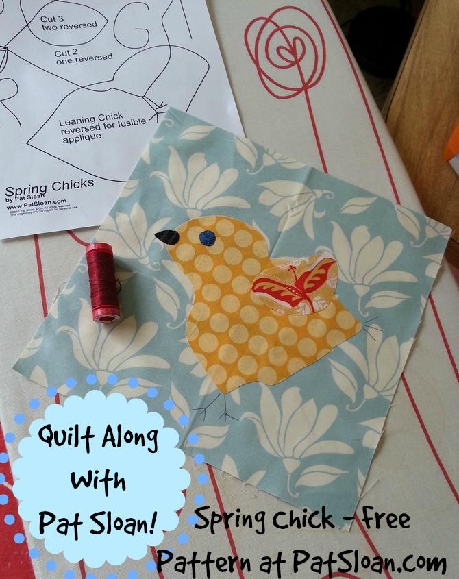Pat Sloan Spring Chick free pattern
