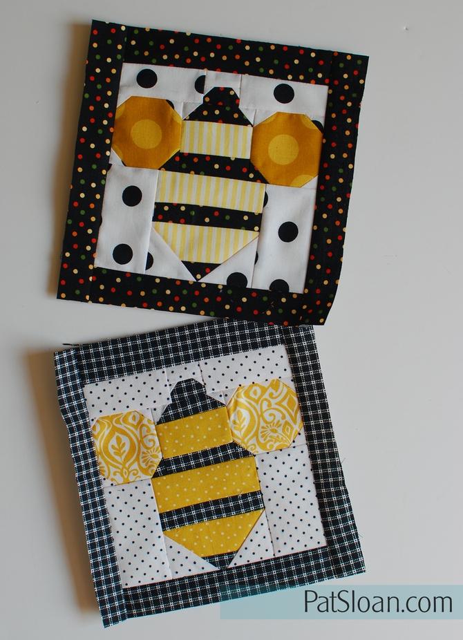 Pat Sloan bee making