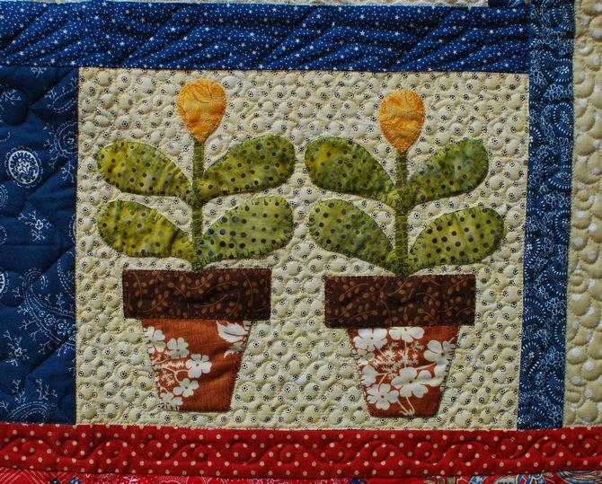 Pat sloan flower pots