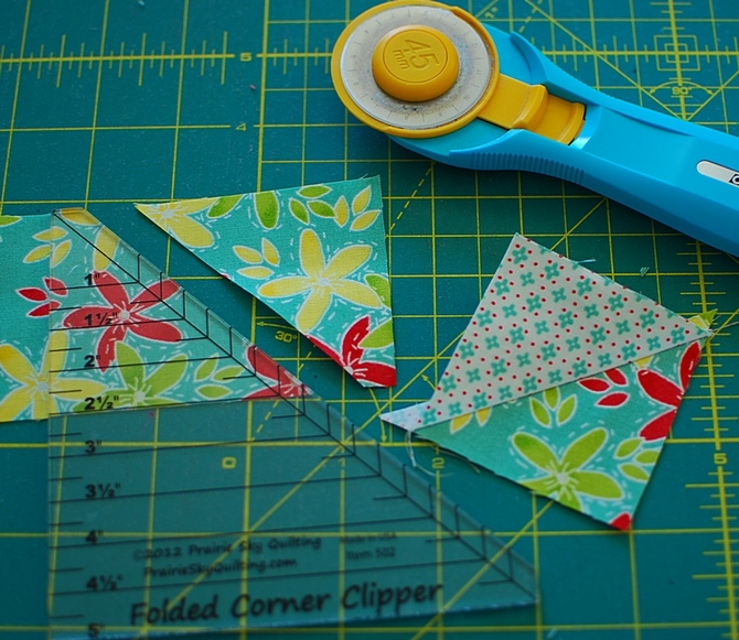Pat sloan folded corner clipper