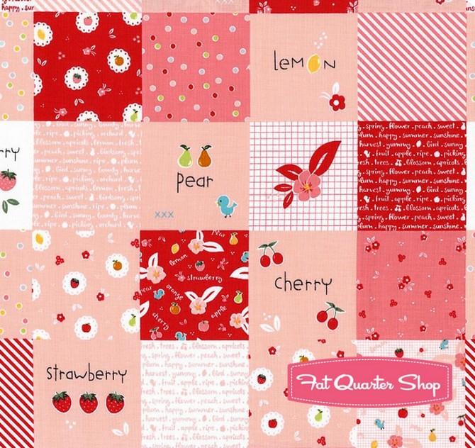 9 sampler fabric