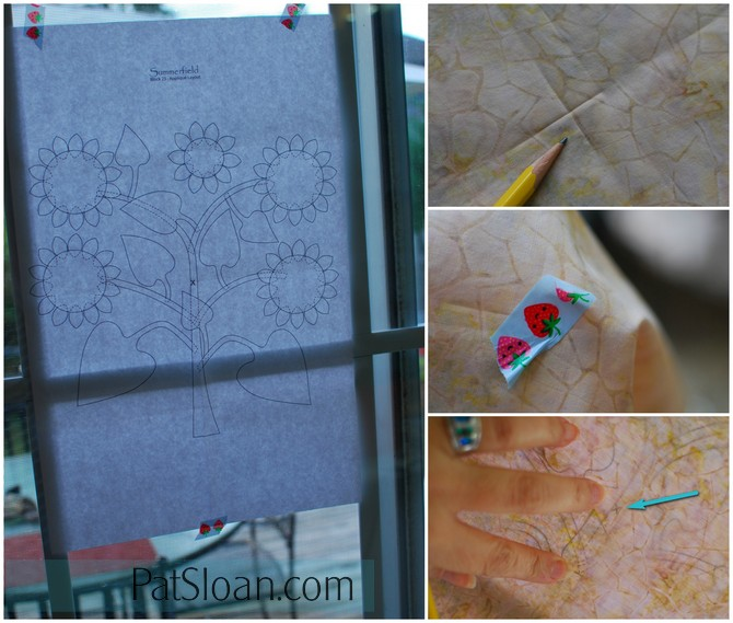 Pat Sloan Summerfield Sunflower pic 2 to 5