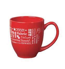 Mug in red