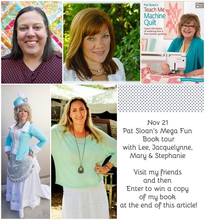 Pat Sloan Nov 21 book tour