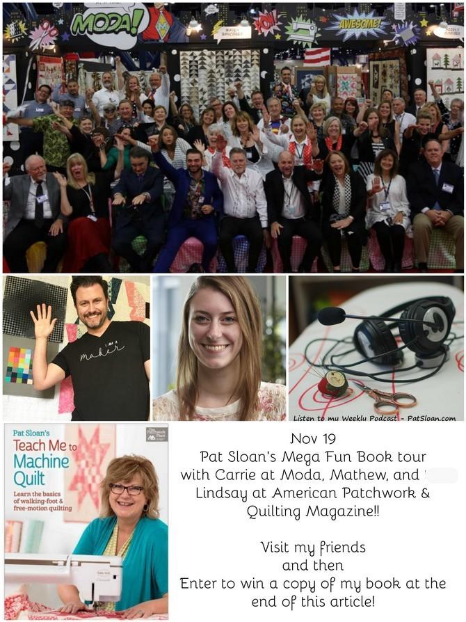 Pat Sloan Nov 19 book tour