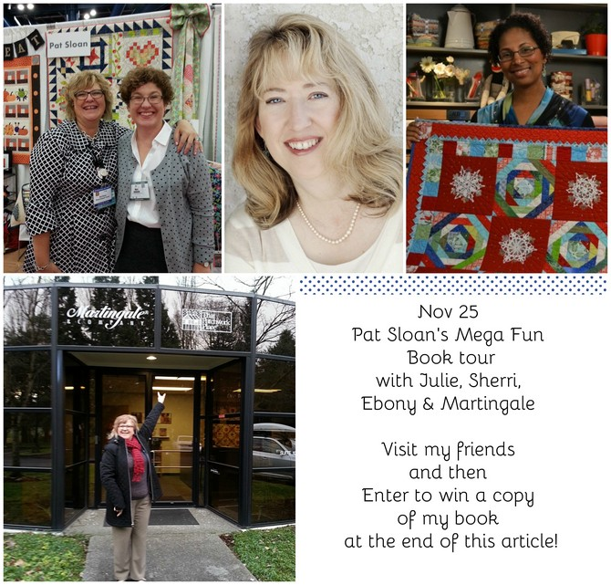 Pat Sloan Nov 25 book toura