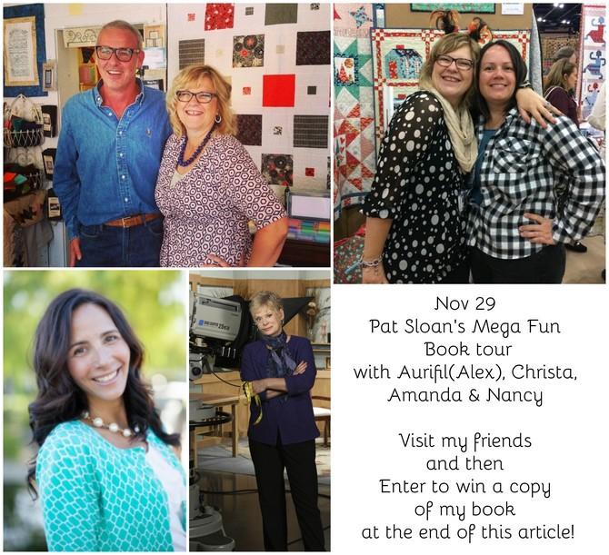 Pat Sloan Nov 29 book tour
