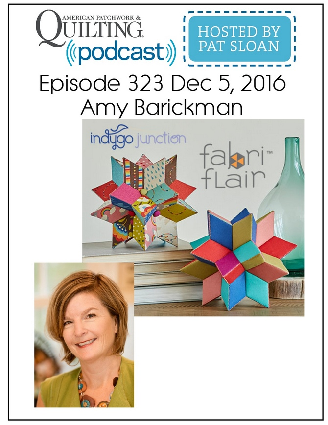 American Patchwork Quilting Pocast episode 323 Amy Barickman