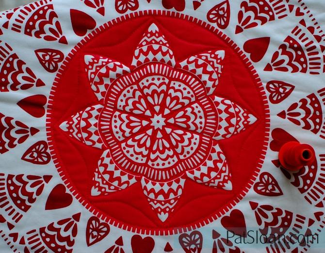Pat Sloan Plan your Quilting design closeup 2