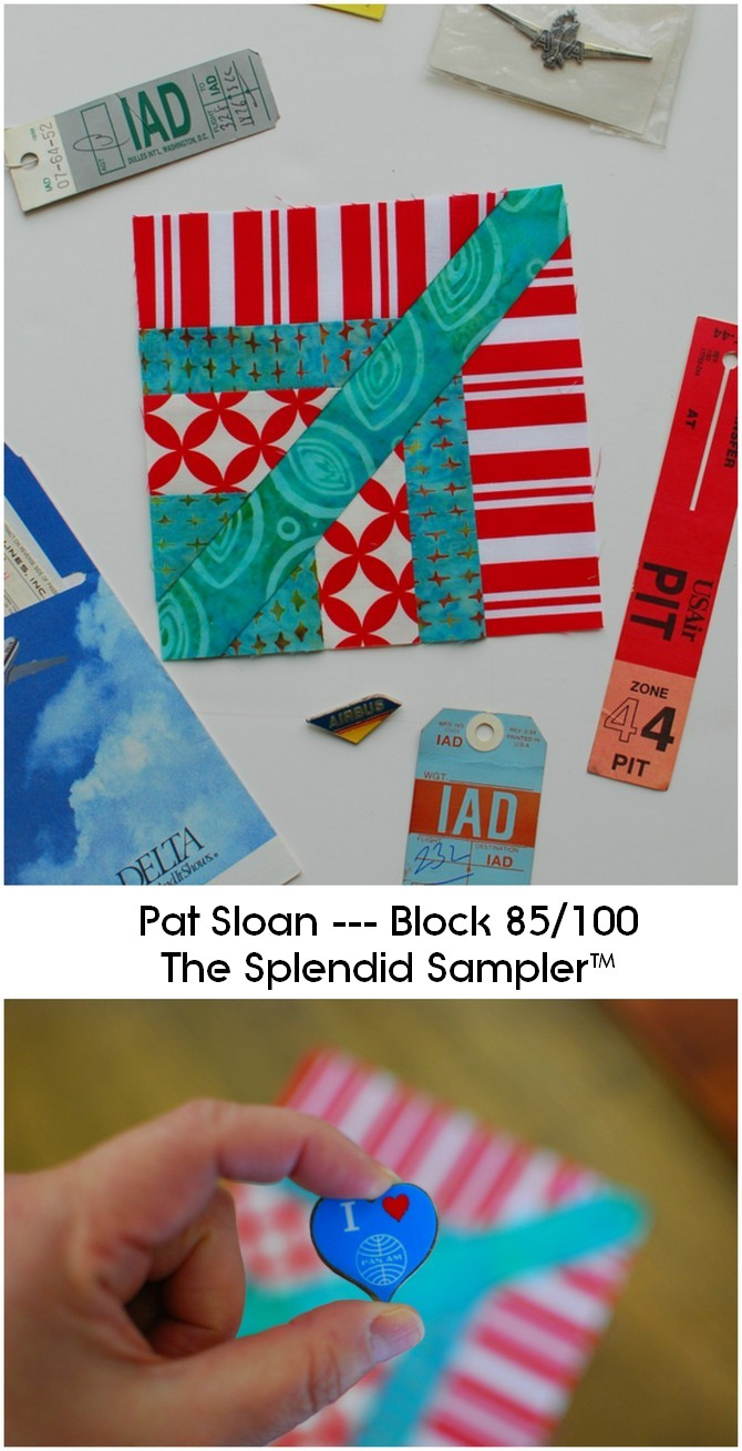 Pat Sloan Block 85 Splendid Sampler collage