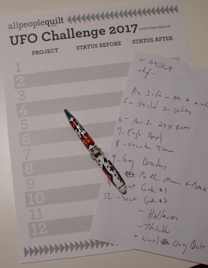 Pat Sloan UFO list 1