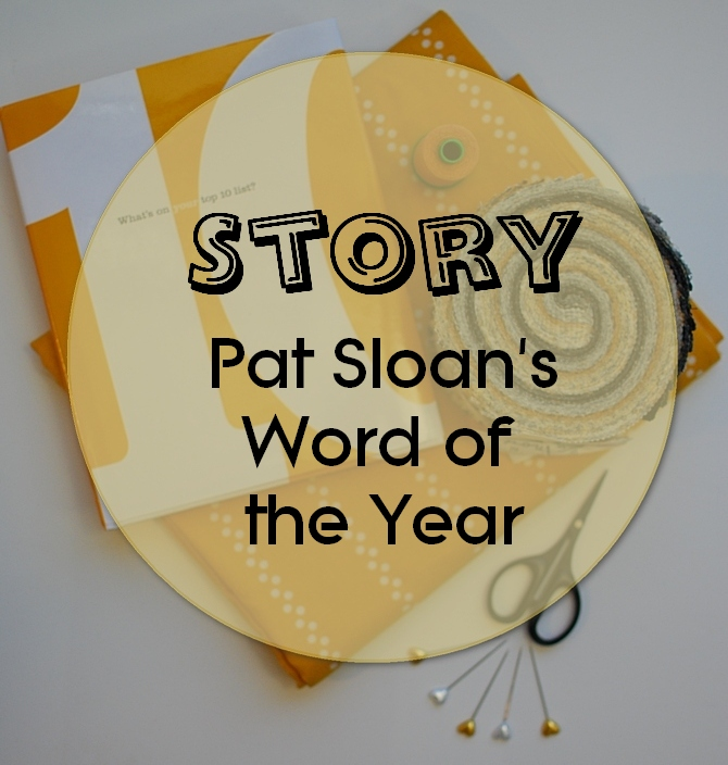 Pat Sloan Word of the year
