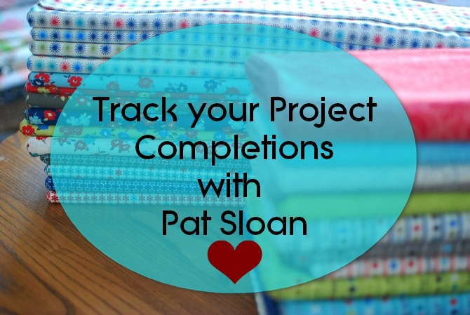 Pat sloan project completion tracking