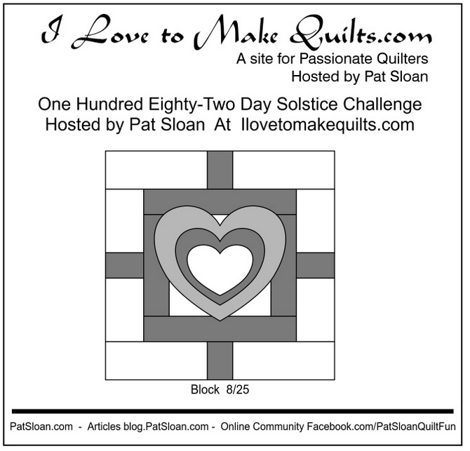 Pat Sloan Block 8 announcement