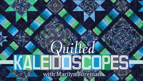 Quilted kaleidoscopes