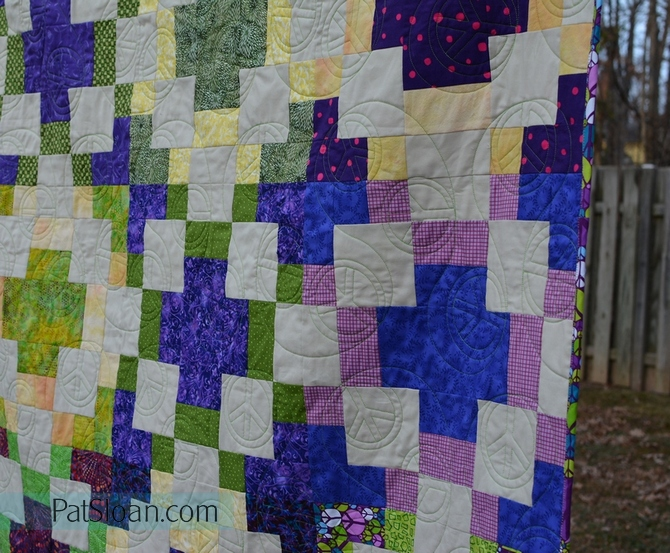 Katie peace quilt done 8