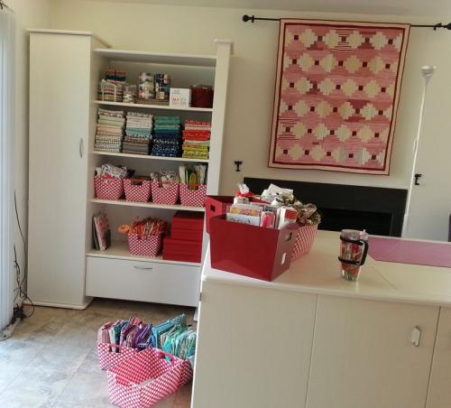 Pat Sloan koals shelves