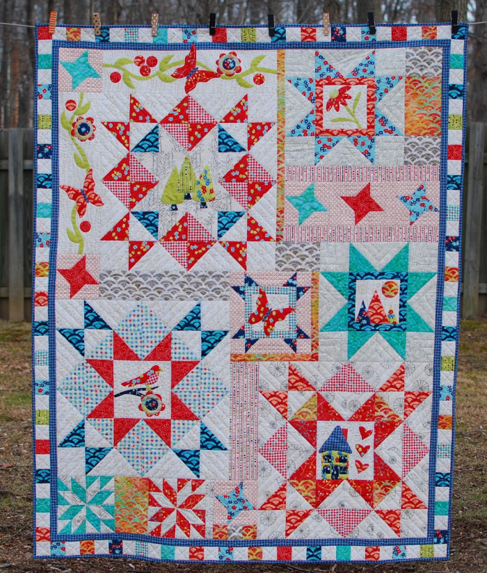 Pat sloan take the round about final quilt