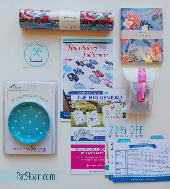 Sew Sampler March 2017 1