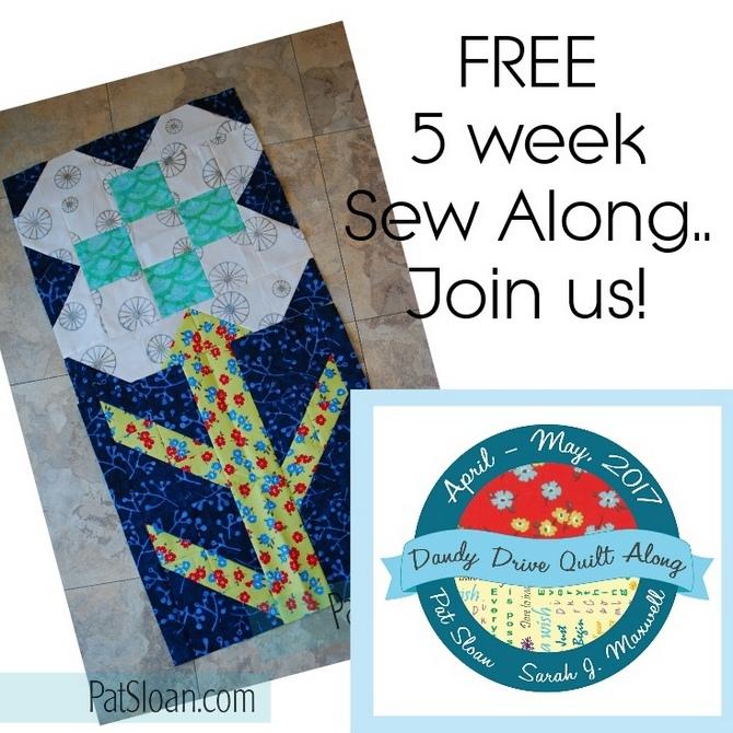 Free Sew along Dandy Drive sq banner