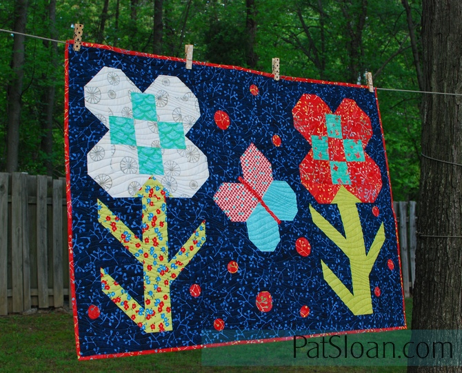 Pat Sloan Dandy Drive sew it up final quilt