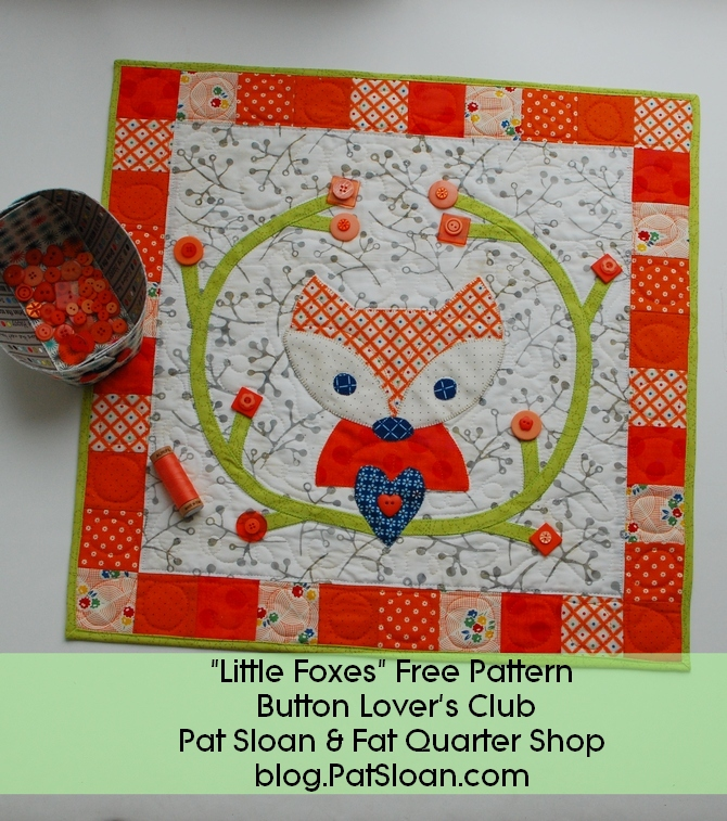 Pat sloan little foxes banner