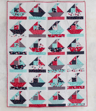 On deck boat quilt