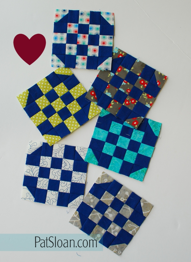 Pat Sloan Patchwork Charity block 6