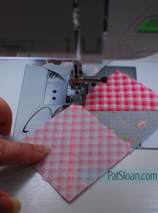 Pat Sloan Sewing Flying Geese