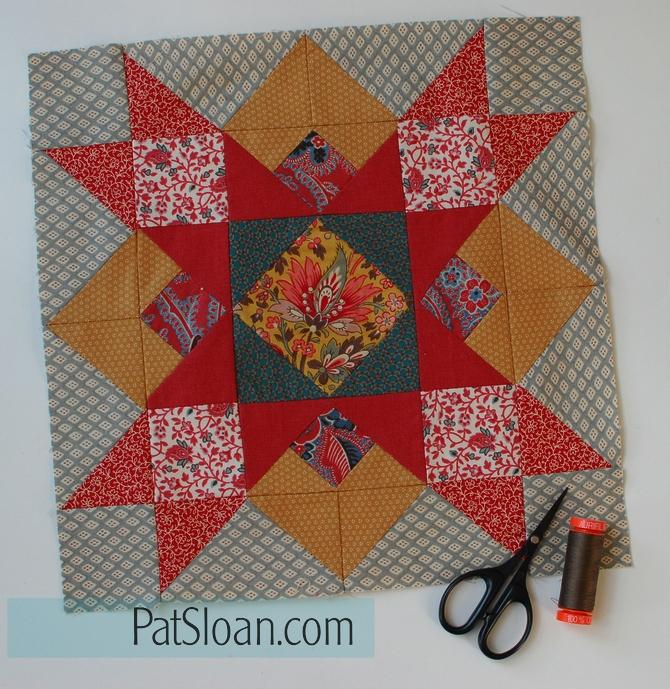Pat Sloan block 6 aurifil
