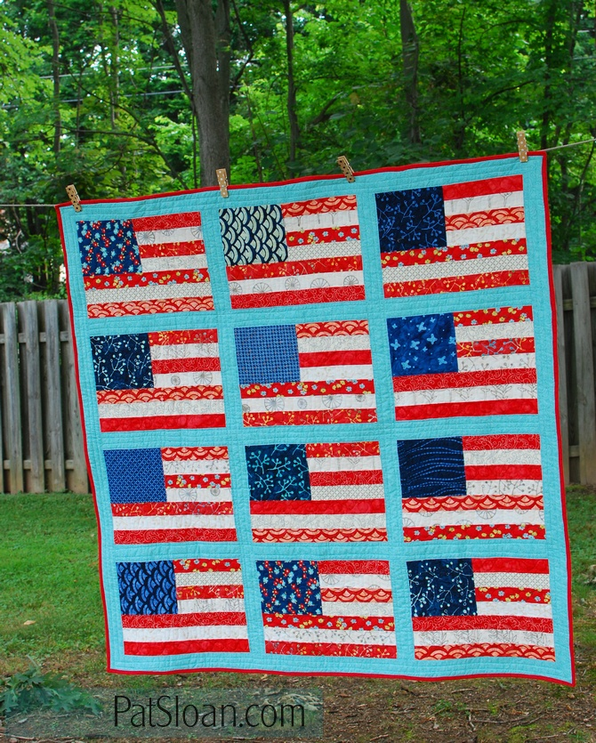 Pat sloan grand ole flag done 3