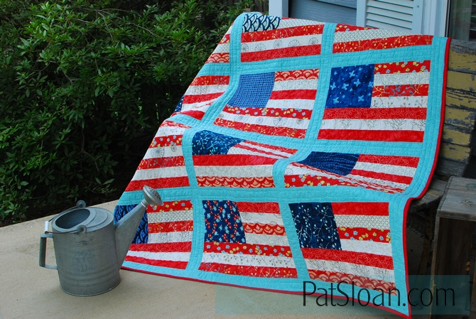 Pat sloan grand ole flag done 2