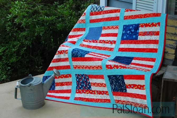 Pat sloan grand ole flag done 2