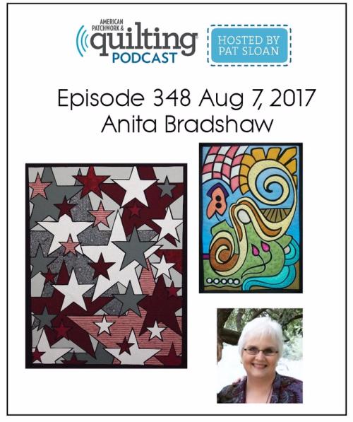 American Patchwork Quilting Pocast episode 348 Anita Bradshaw