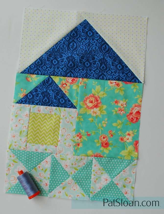 Pat Sloans I Love To Make Quilts Be My Neighbor Sew Along