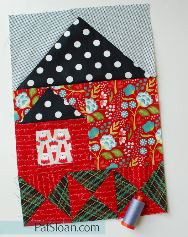 House 4 Of Free Sew Along Will You Be My Neighbor A