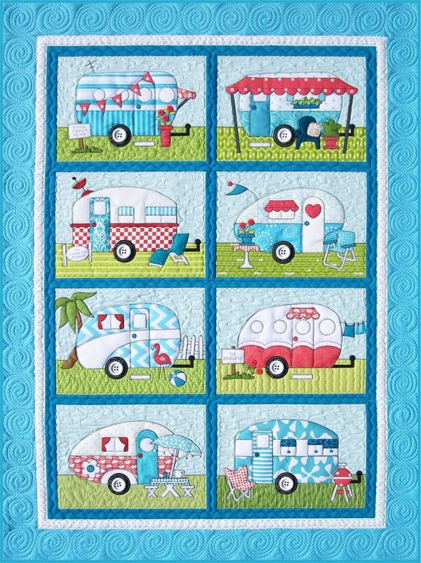 Campers quilt kit