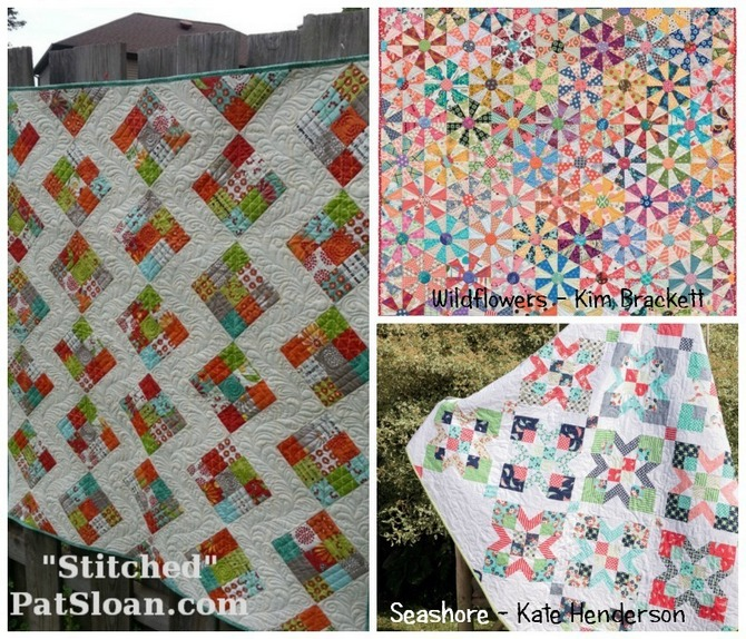 Pat Sloan Jelly Roll quilts