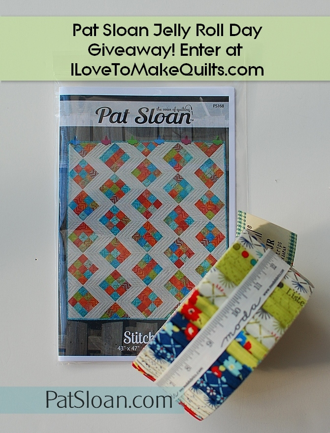 Pat Sloan Fun Giveaway jelly roll num 2