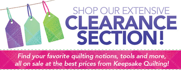 Keepsake clearance