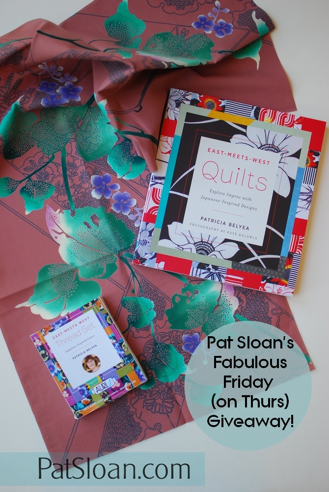 Pat Sloan fabulous Friday Giveaway oct 19