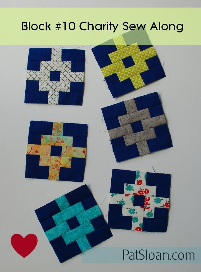 Pat Sloan Patchwork Charity block 10pic1