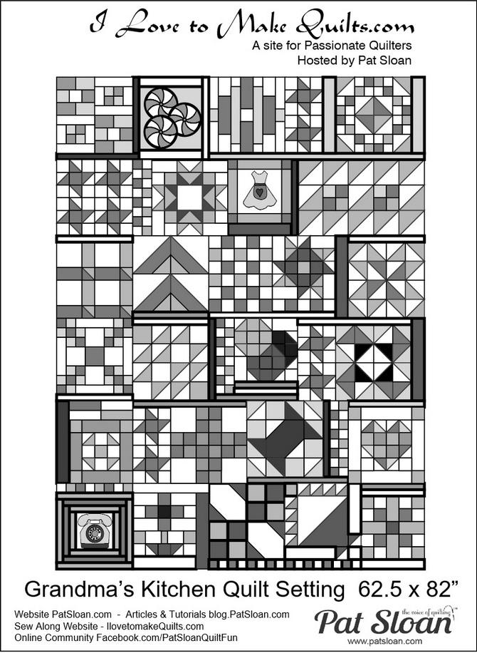 Pat Sloan Grandma Kitchen layout pic1